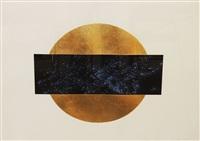 sun & moon trajectories #1 [cirrus 536c-la95] by lita albuquerque